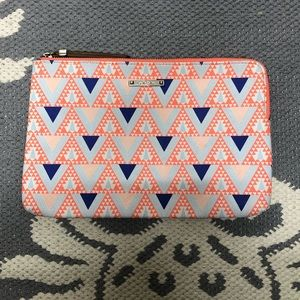 Stella & Dot Mosaic Zip Pouch Clutch